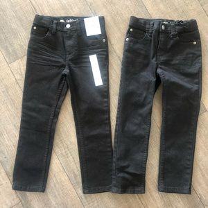 Cat&Jack Black Skinny Jeans size 6